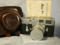 '            1962 M2 Cased -VERY NEAR MINT-NICE SET ' Leica M2 35mm Rangefinder Camera Cased c/w Inst -NICE-CLASSIC VINTAGE CAMERA-NEAR MINT- £749.99